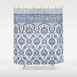 Antique Moorish Tile Pattern 6 Shower Curtain