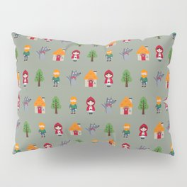 LITTLE RED RIDING HOOD Pillow Sham