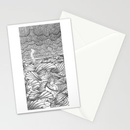 A Teacup in a Storm Stationery Cards