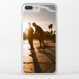The Boys of Summer Clear iPhone Case