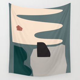 // Shape study #21 Wall Tapestry