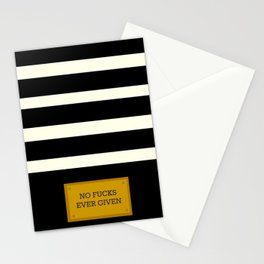 Gold Plated Nonsense Stationery Cards