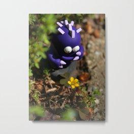 Timid Monsters in the Wild - Dreeb Metal Print