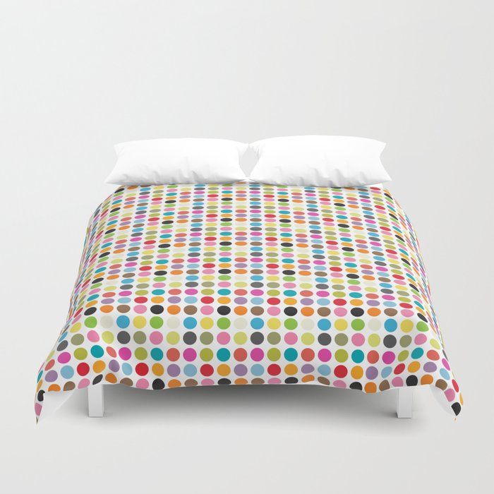 color pattern 6 Duvet Cover