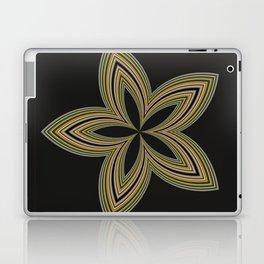 Fractal Star Aura in CMR 01 Laptop & iPad Skin