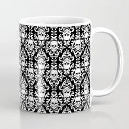 Skull Damask Coffee Mug