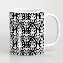 Skull Damask Coffee Mug