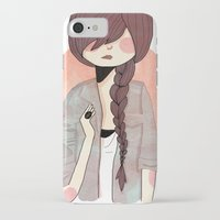 nan lawson iPhone & iPod Cases featuring Some Fashion by Nan Lawson