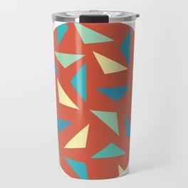 circular triangular Travel Mug