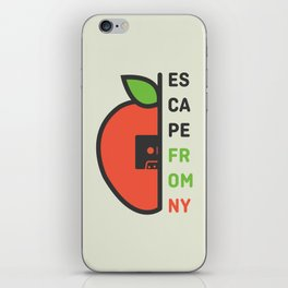 Escape From New York Minimalist iPhone Skin