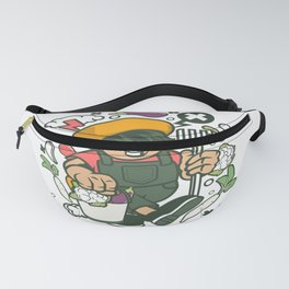 Farmer Kidfor animated characters comics and pop culture lovers Fanny Pack