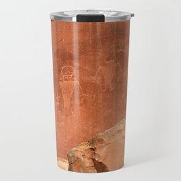 Rock Art Travel Mug