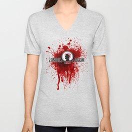 ZGB ZombieGoBoom Executioner with Katana  Unisex V-Neck