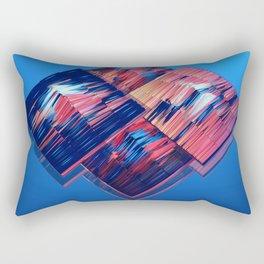 Transitions XXXV - Parallels Rectangular Pillow