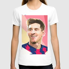 Lionel messi cartoon T-shirt