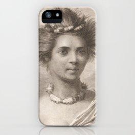 Vintage Hawaii Art iPhone Case