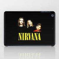 nirvana iPad Cases featuring Nirvana Band by Rothko