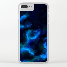 Space Libra Clear iPhone Case