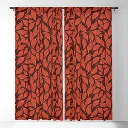 V.04 - Striated Leaves - Hearth Blackout Curtain