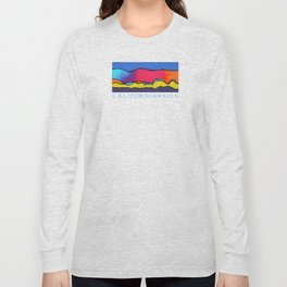 CALIFORNIA WAVE Long Sleeve T-shirt