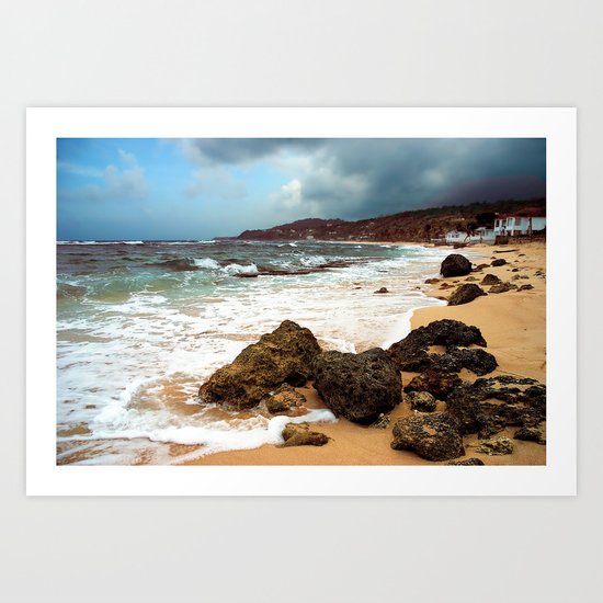 long bay Jamaica - a place to remember Art Print