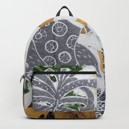 Tropical Toile Backpack