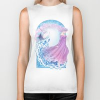 the last unicorn Biker Tanks featuring Last Unicorn by Roots-Love