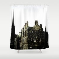 pee wee Shower Curtains featuring WEE TOWN by ..........