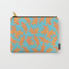 Aztec Lizards Carry-All Pouch