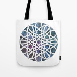 Galaxy Cutout Tote Bag