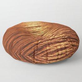copper sea Floor Pillow