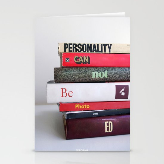 Personality Stationery Cards