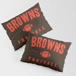 Browns Football Pillow Sham