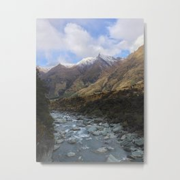 The Rob Roy Glacier Track Metal Print