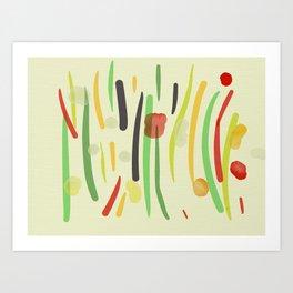 gR0W Art Print