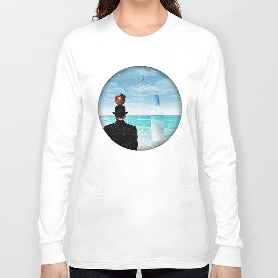 René at the beach Long Sleeve T-shirt