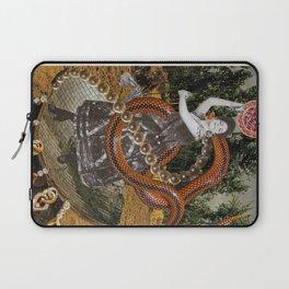 Hulahooping Snake Charmer Laptop Sleeve