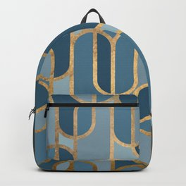 Art Deco Graphic No. 167 Backpack