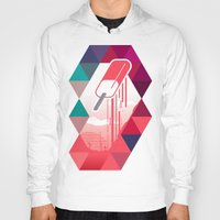 popsicle Hoodies featuring Watermelon Popsicle by Spires