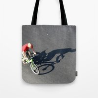 cycling Tote Bags featuring Cycling by Avigur
