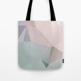 Pastell 2 – modern polygram illustration, wall art print Tote Bag