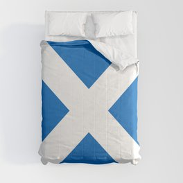 flag of scotland – scotland,scot,scottish,Glasgow,Edinburgh,Aberdeen,dundee,uk,cletic,celts,Gaelic Comforters