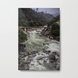 The Mighty Yuba River Metal Print