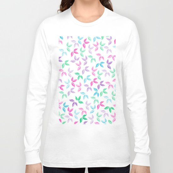Flower Pattern VII Long Sleeve T-shirt