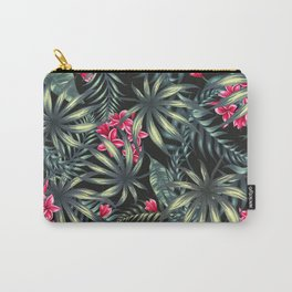 Tropical leave pattern 9.2 Carry-All Pouch