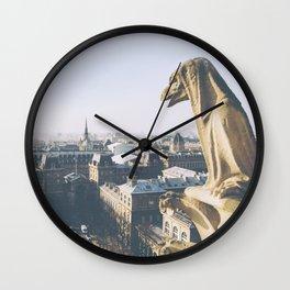 Protecting Paris Wall Clock