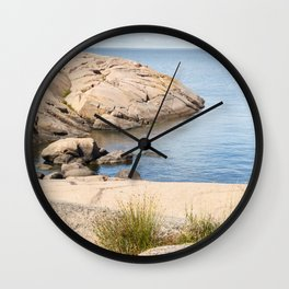 Blue Maiden – Blå Jungfrun Wall Clock