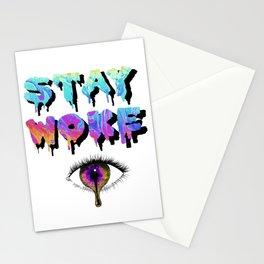 Stay Woke Pastel Stationery Cards