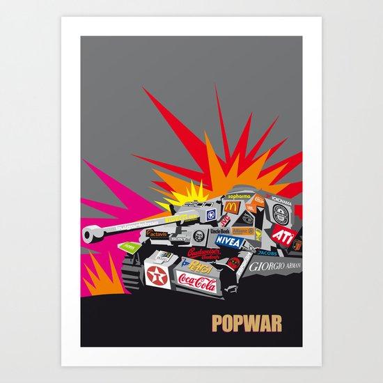 popwar Art Print