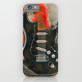 David Gilmour's electric guitar iPhone Case